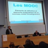 Photo taken at Université Lumière Lyon 2 - Campus Porte des Alpes by Bertrand L. on 12/13/2013