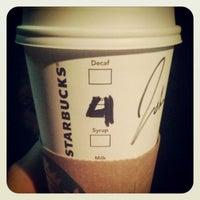 Photo taken at Starbucks by Jonathan R. on 2/8/2013