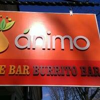 Photo taken at Animo Juice by april j. on 3/24/2013