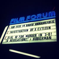 Photo taken at Film Forum by Nadia N. on 10/3/2012
