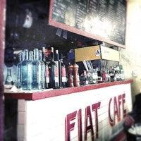 Photo taken at Fiat Café by Linda Y. on 1/20/2013