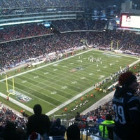 Photo taken at Gillette Stadium by William K. on 12/30/2012
