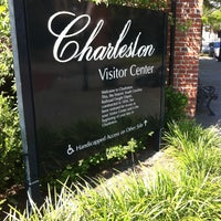 Photo taken at Charleston Visitor Center by Paul C. on 5/10/2013