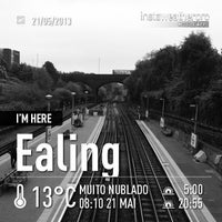 Photo taken at North Acton London Underground Station by Gilson J. on 5/21/2013