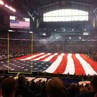 Photo taken at Lucas Oil Stadium by Manuel M. on 12/30/2012