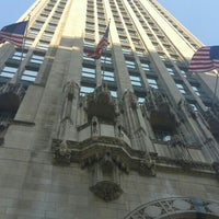 Photo taken at Tribune Tower by a k on 8/2/2016