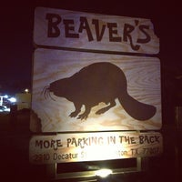 Photo taken at Beaver's by James R. on 3/8/2013