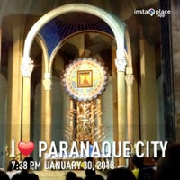 Photo taken at National Shrine of Our Mother of Perpetual Help by Robin P. on 1/30/2013