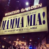Photo taken at Broadhurst Theatre by Martin O. on 12/23/2012