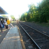 Photo taken at Metro North - Derby Train Station by Melvin M. on 6/23/2014
