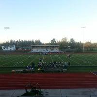 Photo taken at Wildcat Memorial Stadium by Tre' E. on 10/24/2013
