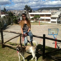 Photo taken at Parque Quito Tenis by Alyona A. on 7/13/2014