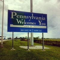 Photo taken at New York - Pennsylvania State Line by Robert R. on 6/1/2013