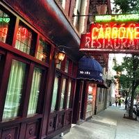 Photo taken at Carbone by Bob K. on 7/18/2013