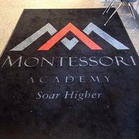 Photo taken at Montessori Academy by Bryan T. on 5/22/2014