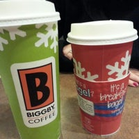 Photo taken at BIGGBY COFFEE by Jeremy V. on 1/19/2013