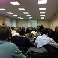 Photo taken at Экономический факультет СПбГУ by Naumov 🖖 D. on 11/21/2012