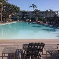 Photo taken at Coronado North Pool by Volkan K. on 12/22/2014