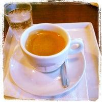 Photo taken at John John Cafe by Auyri F. on 10/24/2012