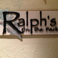 Photo taken at Ralph's On The Park by Taylor on 5/4/2013