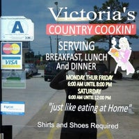 Photo taken at Victorias Country Cookin by Priestess Kandi R. on 6/11/2014