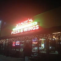 Photo taken at Josie's Pizza & Wings by Samuel O. on 2/27/2013