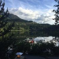 Photo taken at Nita Lake Lodge by Kael R. on 6/16/2016