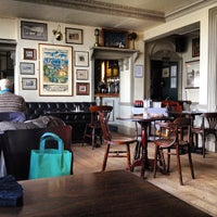 Photo taken at Trafalgar Tavern by Paolo C. on 3/12/2013