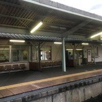 Photo taken at Yōkaichiba Station by Kaname T. on 9/18/2016