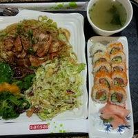 Photo taken at SanSai Japanese Grill by Jacx B. on 1/2/2013
