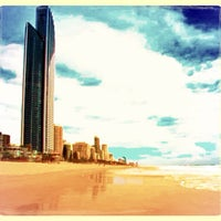 Photo taken at Surfers Paradise by Penski__ :. on 5/6/2013