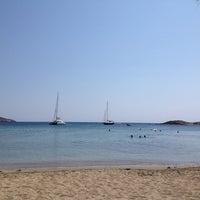 Photo taken at Porto Koundouros Beach by Irrational Talks on 7/15/2013