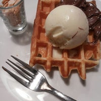 Photo taken at Pancious by Happy I. on 7/12/2014