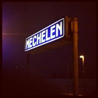 Photo taken at Station Mechelen by Niels on 1/25/2013