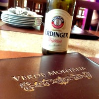 Photo taken at Verde Montana Restaurant by Amorn R. on 8/3/2013
