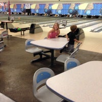 Photo taken at Royal Crest Lanes by Sara C. on 11/15/2014