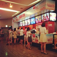 Photo taken at CGV 압구정 by Trifectainvest on 7/27/2013