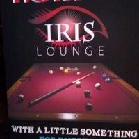 Photo taken at Iris Lounge by Chris B. on 6/23/2012