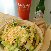 Photo taken at Qdoba Mexican Grill by Ana Luiza C. on 8/26/2014