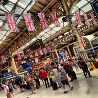 Photo taken at London Victoria Railway Station (VIC) by Laurent D. on 7/27/2013