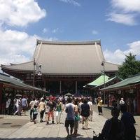 Photo taken at Senso-ji Temple by Rikasuke P. on 7/7/2013