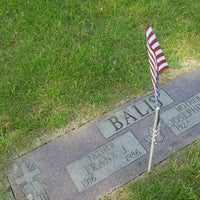 Photo taken at All Saints Cemetery by Fran C. on 5/27/2016