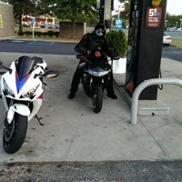 Photo taken at Mobil by Dres M. on 9/28/2013
