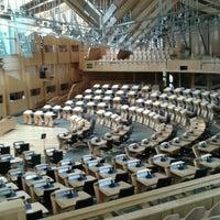 Photo taken at Scottish Parliament by Antonia E. on 9/5/2016
