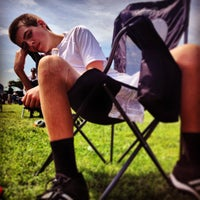 Photo taken at Warren McGuirk Alumni Stadium by Eric K. on 7/6/2013