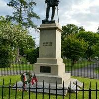 """Photo taken at Thomas """"Stonewall"""" Jackson's Grave by Bob B. on 5/10/2015"""