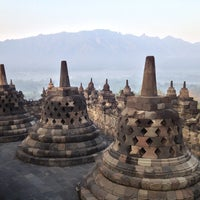Photo taken at Borobudur Temple by Ted on 7/21/2013