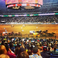 Photo taken at Houston Livestock Show and Rodeo by Kenny H. on 3/8/2013