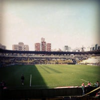Photo taken at Estádio Heriberto Hülse by Henrique V. on 6/8/2013
