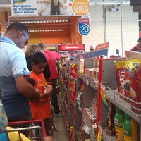 Photo taken at Extra Hipermercado by Andrea C. on 8/10/2014